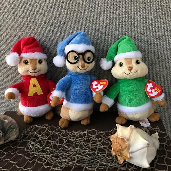 Accessories Vintage Alvin Chipmunks Beanie 3pcs Set Poshmark